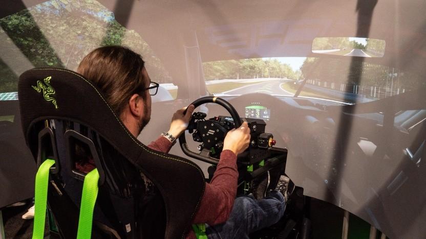 Der Eracing Simulator von Razer