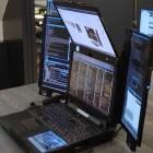 Expanscape Aurora 7: Der skurrile Laptop mit den sieben Bildschirmen