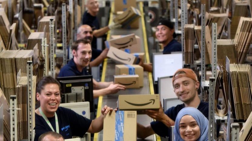 Firmenfoto der Arbeiter