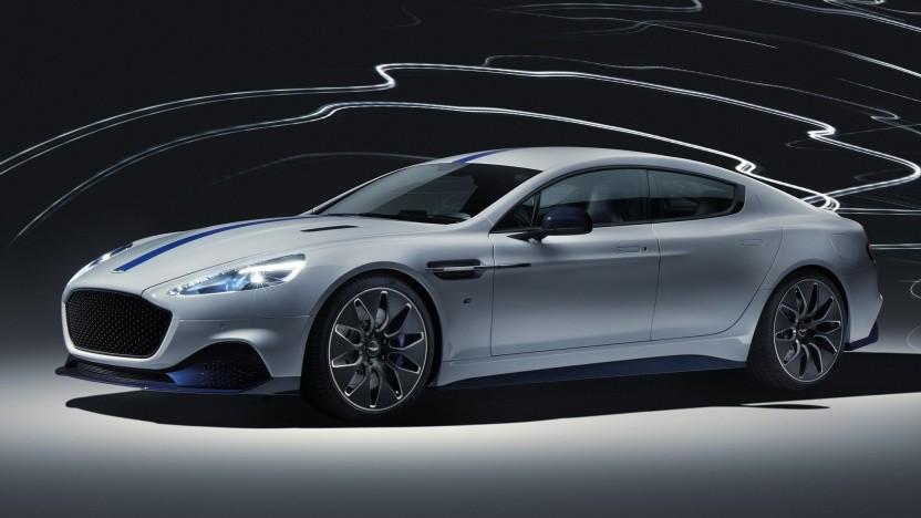 Aston Martin Rapid E: exklusiv im Auftrag Ihrer Majestät