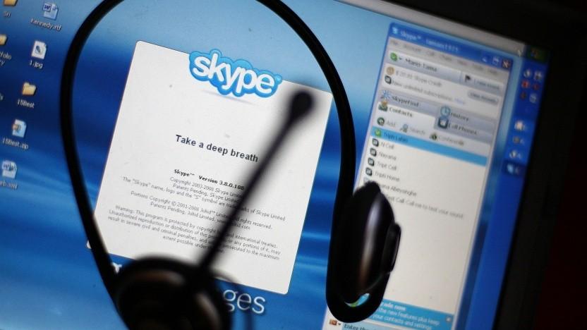 Artwork von Skype