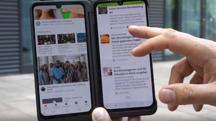 Das LG G8x ist ein neues Produkt des Unternehmens.