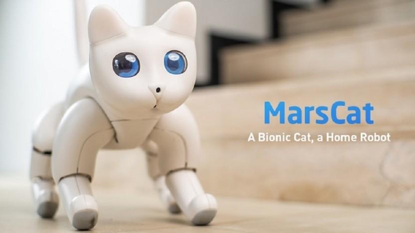 Marscat soll eine echte Katze simulieren.