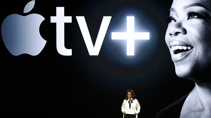 Ein geplanter Inhalt erscheint nicht für Apple TV+.