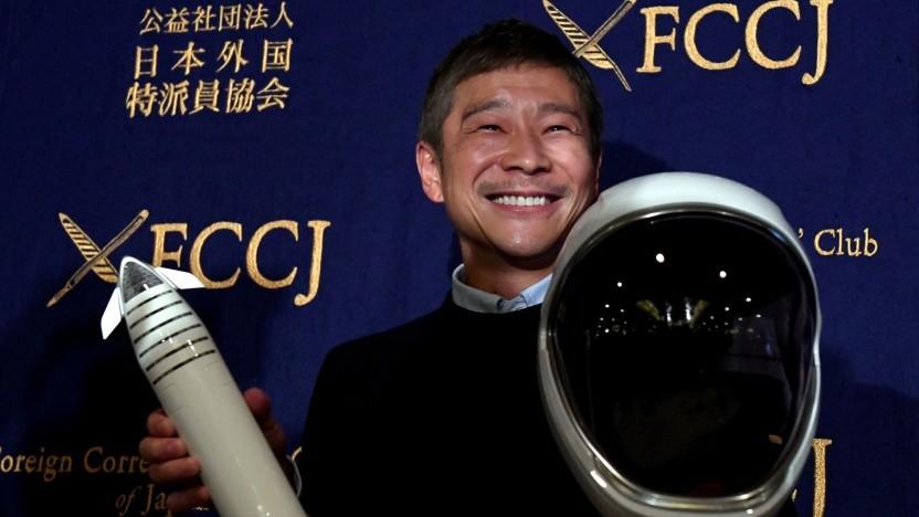 Yusaku Maezawa: Die Herzdame soll bis Ende März gefunden sein.