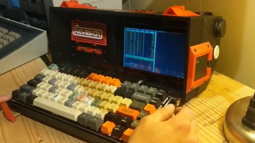 Reviiser Lab baut einen interessanten Retro-Computer.
