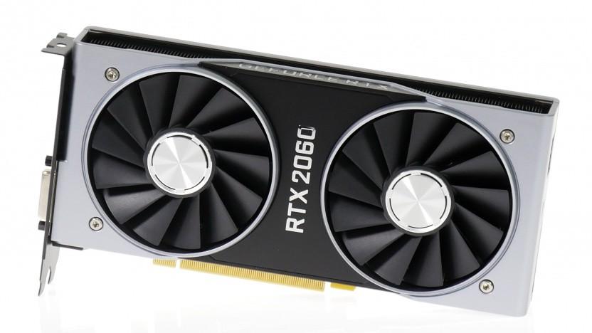 Geforce RTX 2060 mit 6 GByte Videospeicher