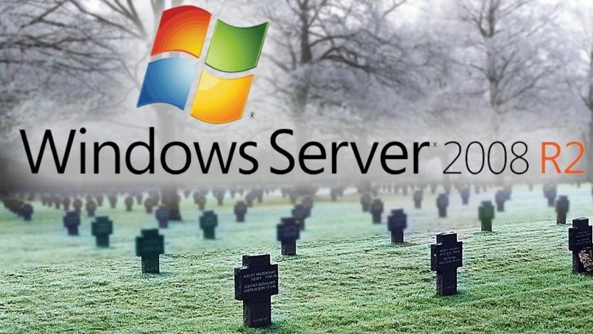 Windows Server 2008 ist mittlerweile nicht mehr sicher.