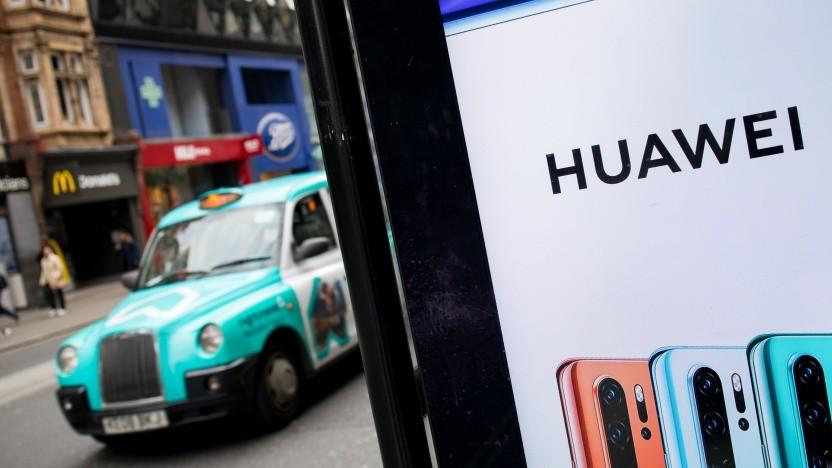 Huawei in London