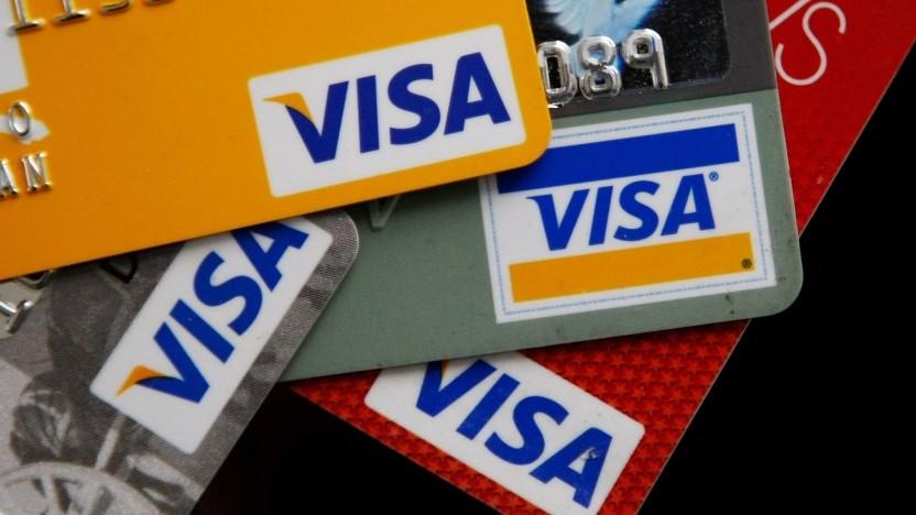 Visa Karten und Apps brauchen Onlineplattformen.
