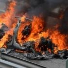 Elektroautos in Tiefgaragen: Was tun, wenn's brennt?