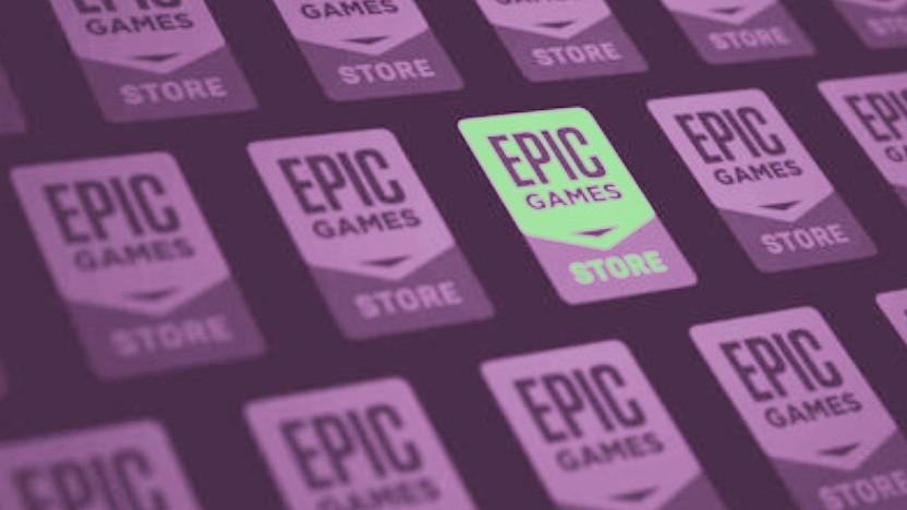 Logo des Epic Games Store
