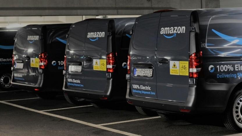 Elektrische Amazon-Lieferwagen: Ladeinfrastruktur mit 60 Ladepunkten