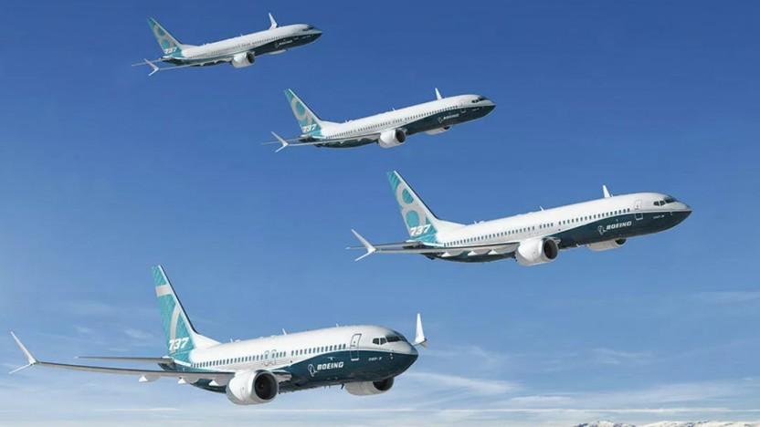 Boeings Bestellungen gehen zurück.
