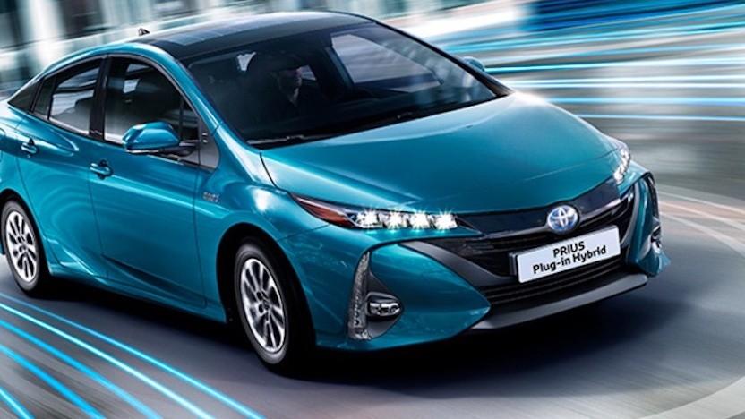 Toyota-Hybridfahrzeug (Symbolfoto)