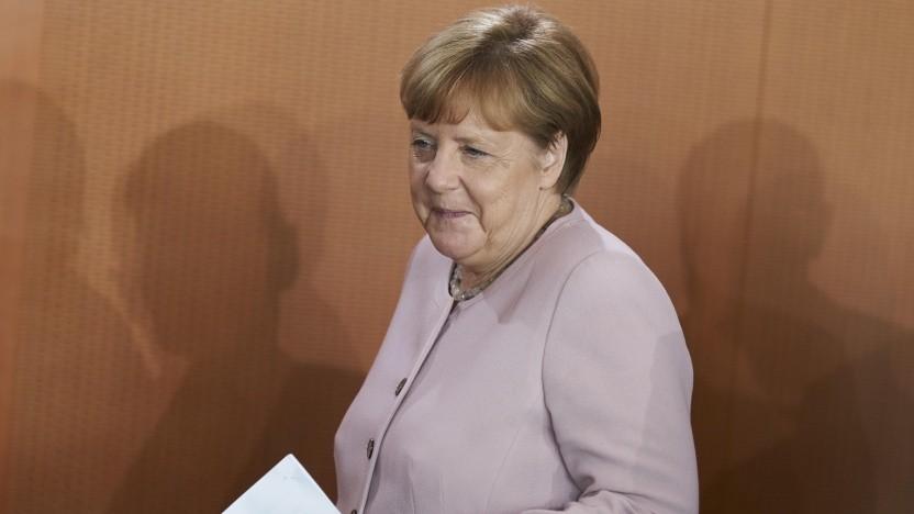 Merkel im Kabinett