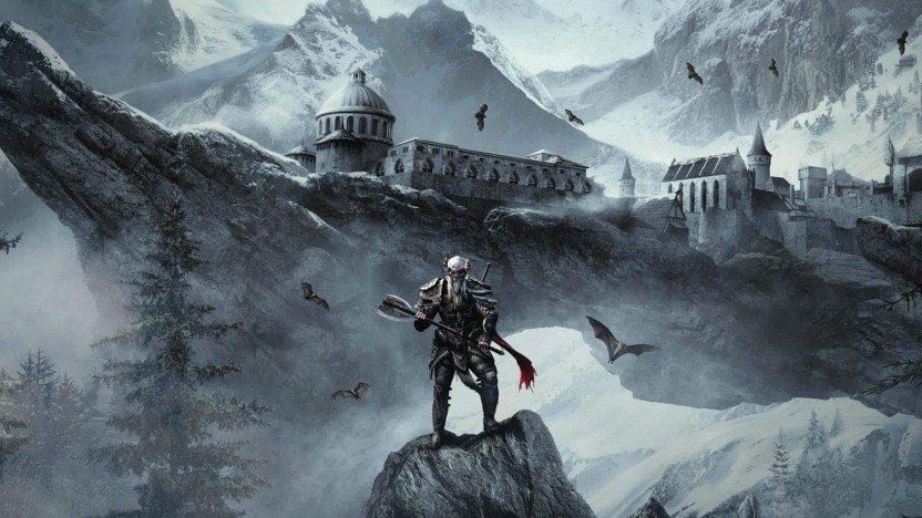 Artwork von The Elder Scrolls Online: Das Schwarze Herz von Skyrim