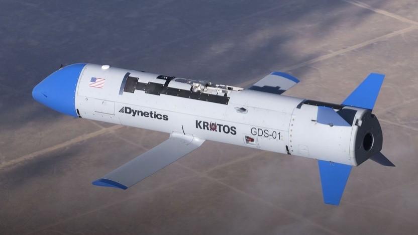 Drohne X-61A beim Erstflug im November 2019