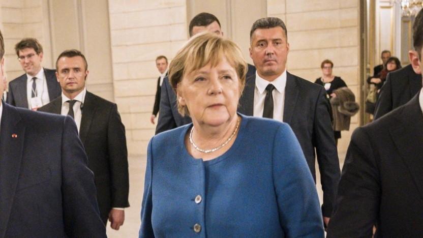 Europäische Lösung: die Kanzlerin im Dezember im Élysée-Palast