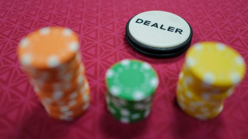 Glücksspiel in einem (echten) Casino