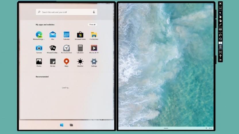 Microsoft bereitet Developer auf Dual-Screen-Geräte vor.