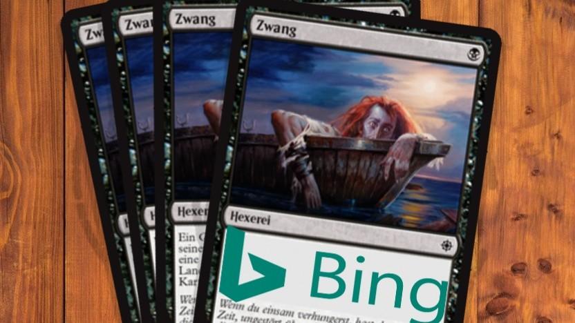 Bing wird zum Zwang.