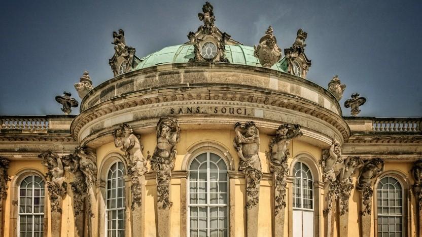 Das Potsdamer Wahrzeichen Sanssouci