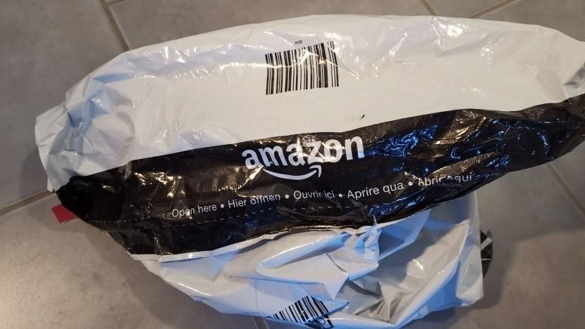 Verpackung von Amazon Deutschland
