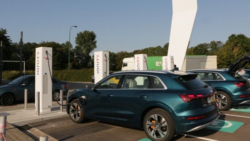 Audi hat Probleme bei der E-Tron-Produktion.