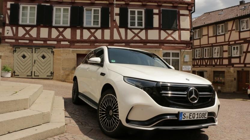 Elektroautos wie der Mercedes EQC können immer noch nicht stärker gefördert werden.