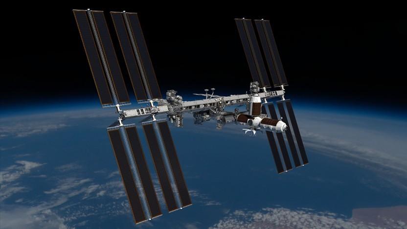 Modul von Axiom Space an der ISS (künstlerische Darstellung): Fenster zur Erde