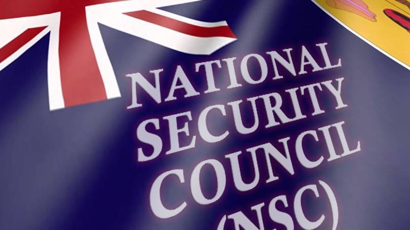 Der National Security Council traf sich.