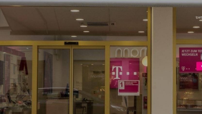Telekom-Shops werden weniger genutzt.