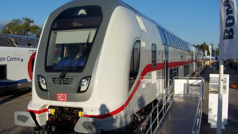 Der Twindexx Vario zählt zu den Intercity-2-Zügen.