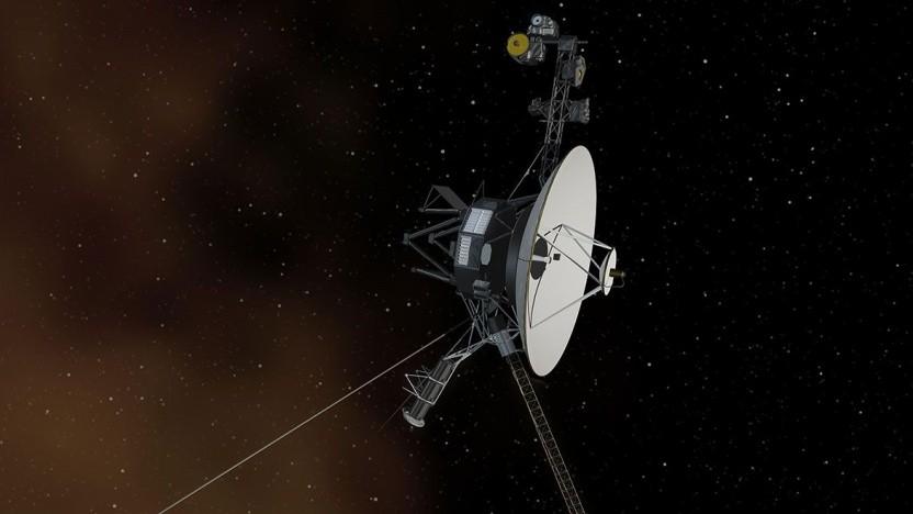 Voyager-Sonde (künstlerische Darstellung): Stromversorgung überlastet