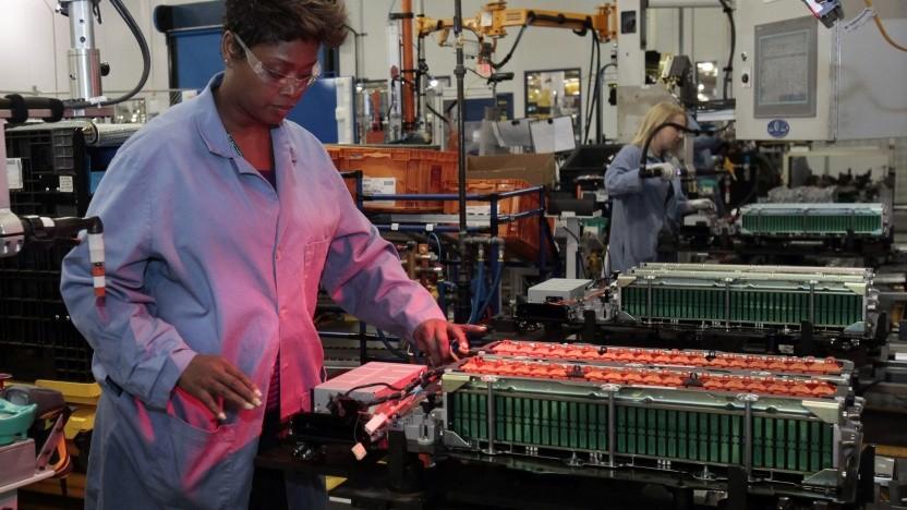 Akkufertigung bei Ford: In Zukunft werden dort noch viel mehr Akkus gebraucht als bislang.