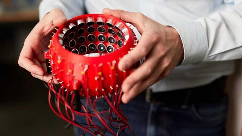 Der Schallwellenkäfig ist ein Transportgefäß für sehr, sehr empfindliche Gegenstände.