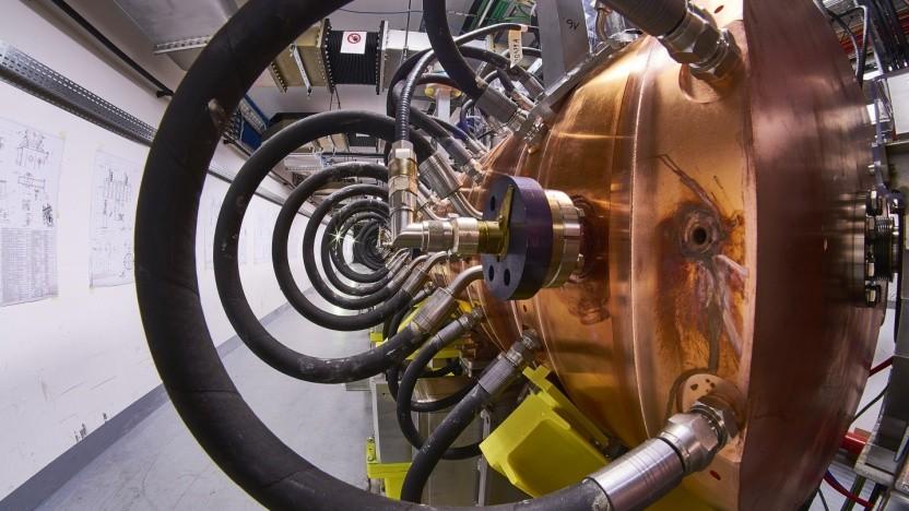 Teilchenbeschleuniger wie der Linac 4 am Cern liefern Unmengen an Daten.