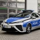 Toyota Mirai: Berliner Polizei setzt Brennstoffzellenautos ein