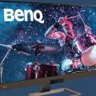 Benq EW3280U: 32-Zoll-Monitor hat integrierte 2.1-Lautsprecher