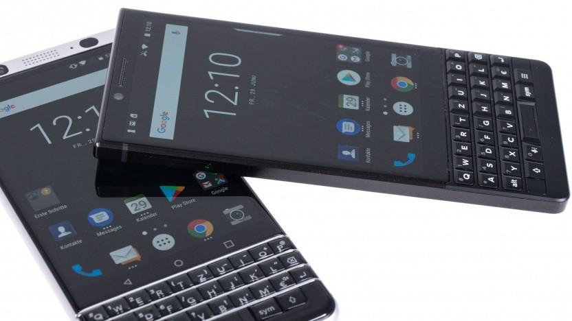 TCL hat auch Blackberry-Smartphones mit Tastatur hergestellt.