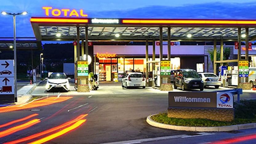 Total-Tankstelle