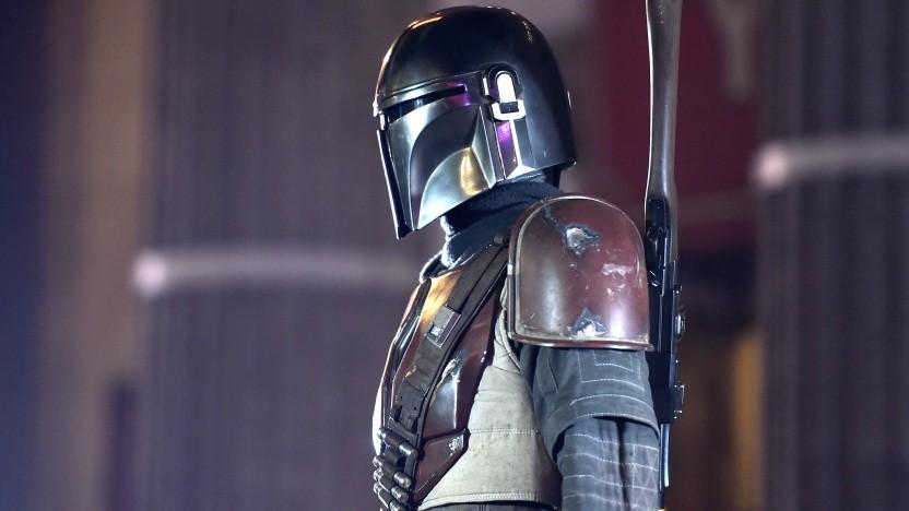 Figur aus Star Wars: The Mandalorian