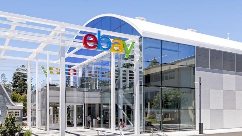 Der Hauptsitz von Ebay