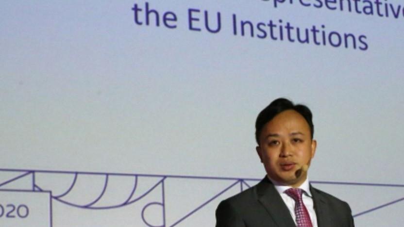 Die Rede von Abraham Liu, Huaweis Europachef, in Brüssel
