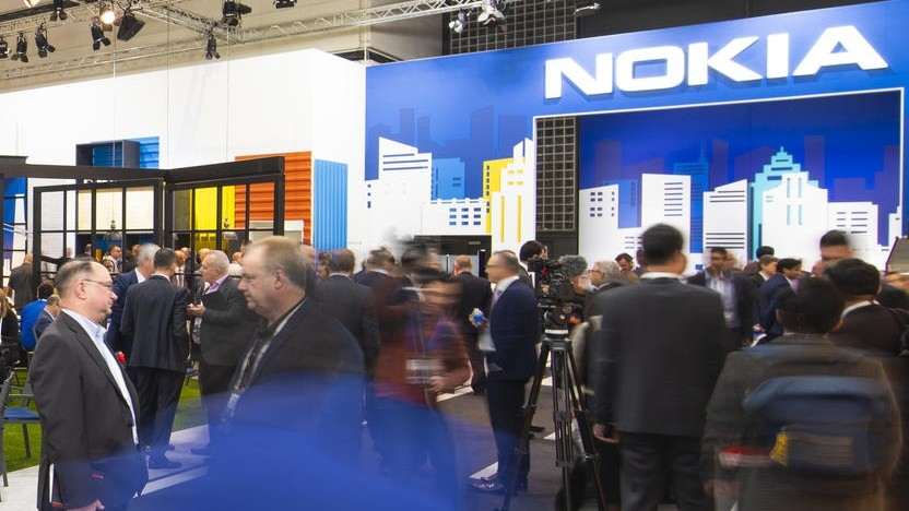 Nokia-Stand auf dem MWC 2019