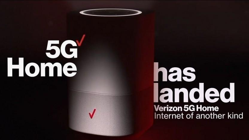 Verizon wirbt für sein 5G-Netz.