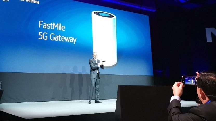 Nokia-Chef Rajeev Suri stellt vor.