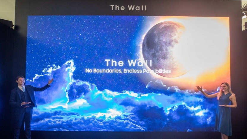 The Wall in der 583-Zoll-Version