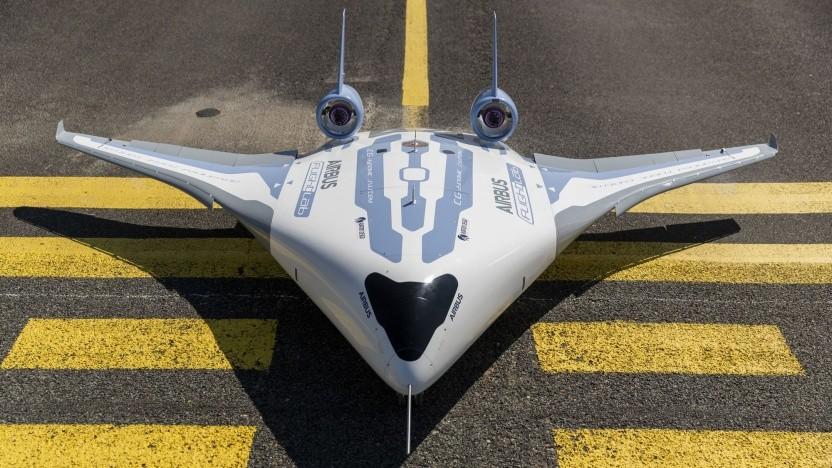 Technologiedemonstrator Maveric: Hybrid aus herkömmlichem Flugzeug und Nurflügler